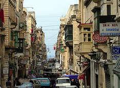 Die-Merchants-Street-auf-Malta